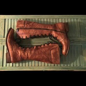 Bed Stu Salisbury Lace Up Boots